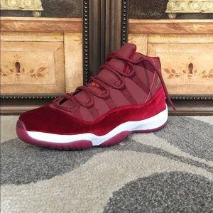 """Air Jordan 11 """"Velvet Red"""""""